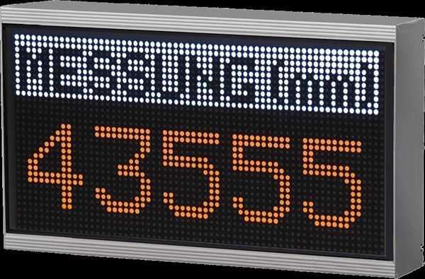 LED-Matrix-Anzeige WMA3264P6