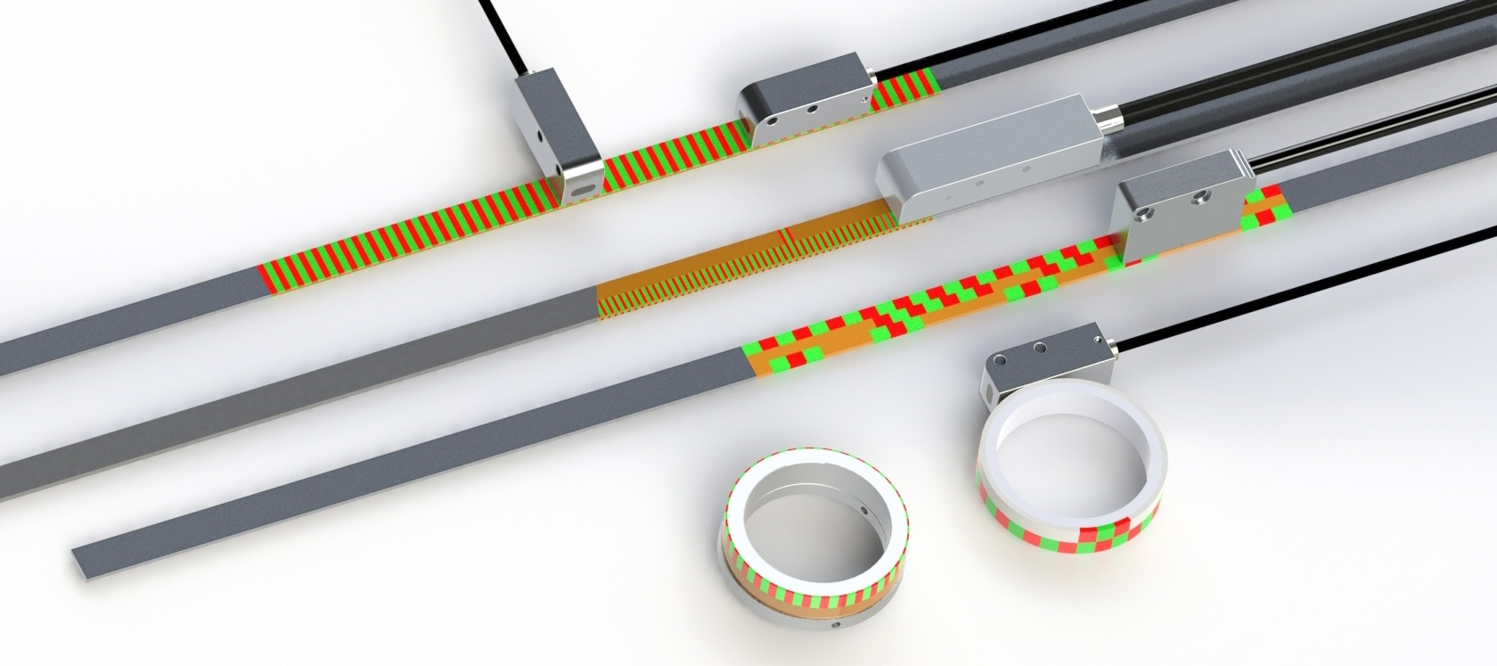 Magnetic Length And Angle Measuring Systems Precise