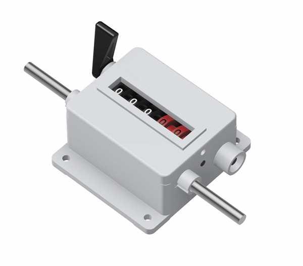 Mechanischer Meterzähler M45