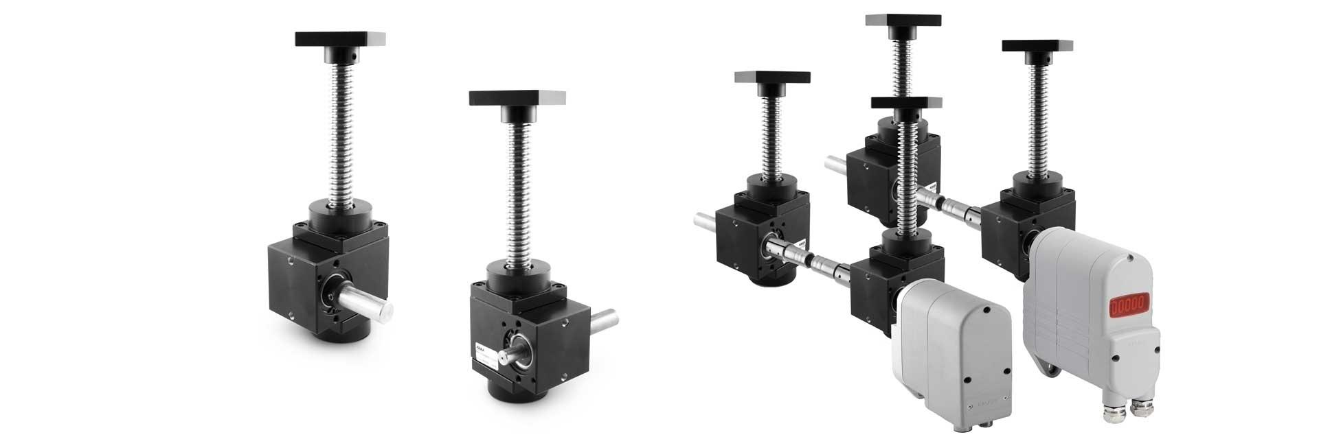 Worm Gear Screw Jack MAR50 | Angular Gearbox | Mechanics