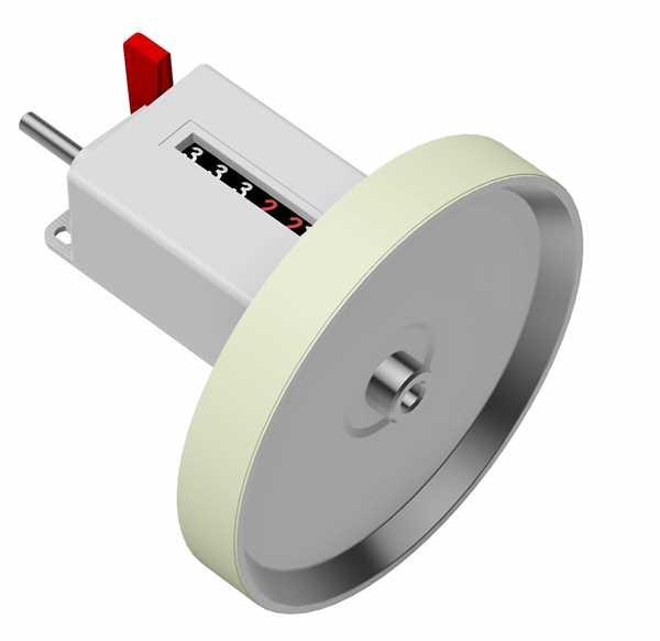 Mechanischer Meterzähler M410
