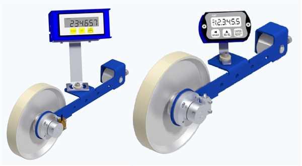 Elektronischer Meterzähler Light mit Anzeige